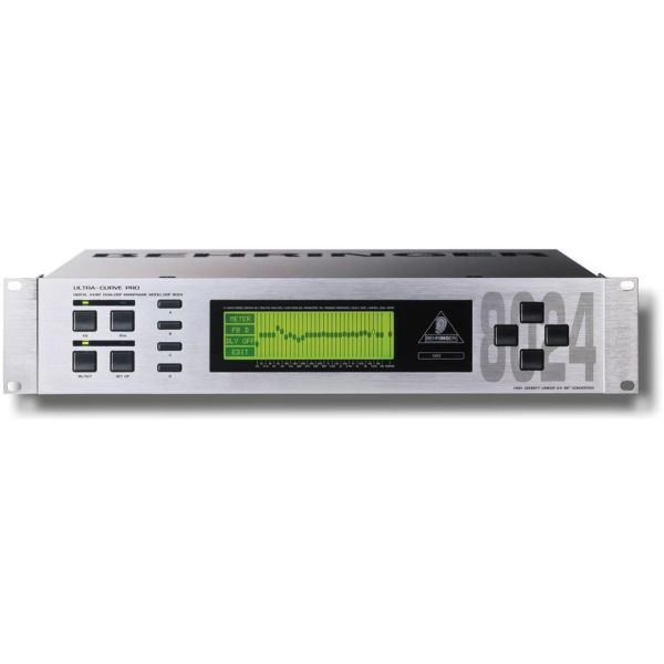 Behringer DSP8024 UltraCurve Pro Digital Processor Digital stereo equalizer/analyzer with two 24-bit & analitis fasmatos