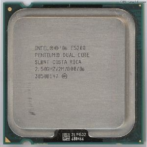 Intel Pentium Dual Core E5200
