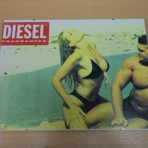Αφίσες ρετρό διαφήμισης ρούχων DIESEL