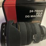 Sigma φακός 24-70 F2.8