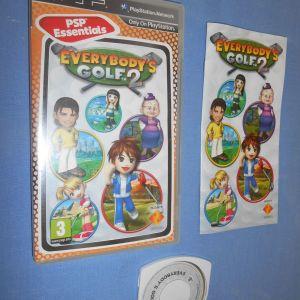 EVERYBODY GOLF 2 - PSP