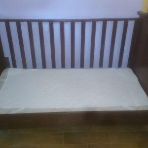 Βρεφικό κρεβάτι ΝΕΚ μαζί με στρώμα