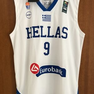 Εμφάνιση Φανέλα Γιάννης Μπουρούσης Εθνικής Ελλάδος GSA Hellas XL
