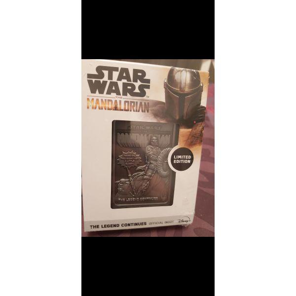 polite Star Wars Mandalorian - Metallic Ingot.