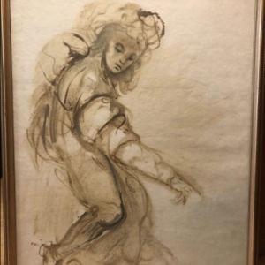 Λιθογραφια της Leonor Fini