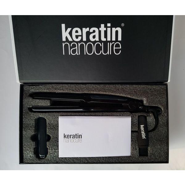 "set peripiisis mallion: sidero ""keratin Nanocure Steam Iron"" & igri keratini (Vapor Fuel 250mL) & sampouan (2x100mL)"