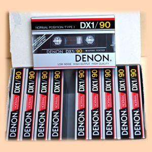 Κασέτες ήχου σφραγισμένες, 10 τεμ. Denon DX1 C90 Japan