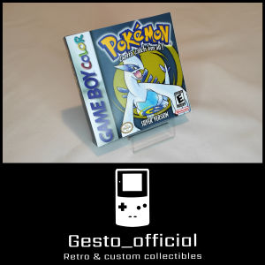 Pokemon Silver Gameboy Color custom box Gesto_official