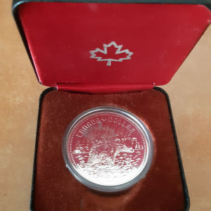# 62 -Ασημενιο νομισμα (UNC) Καναδα