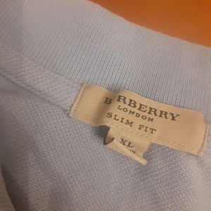 Baby Blue Burberry Polo