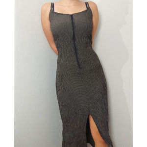 Μάξι κολλητό φόρεμα
