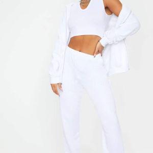λευκή φόρμα preety little thing