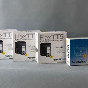 POCKET WIZARD FLEX TT5 FOR NIKON (50 ευρώ το ένα) στο σύνολο όλα μαζί 200 ευρώ