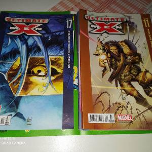 ultimate x-men τεύχη 7,8,11,14,15,16,17,20
