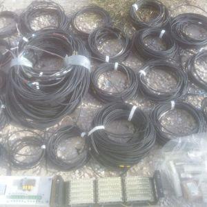 ΚΑΛΩΔΙΩΣΗ 200 μετρα δικτυου με 10 ασφαλειοθηκες  και 25 ρεγκλετες , για ως 10 συσκευες ασφαλισμενες