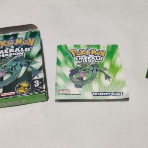 Pokemon Emerald Complete Version for GBA (New Battery) Game Boy Advance, 2005