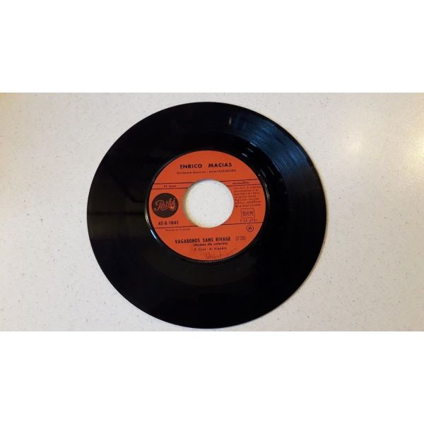 Vinyl record 45 - Enrico Macias