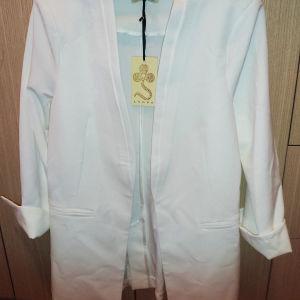 Καινούργιο σακάκι λευκό Lynne