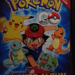 pokemon go άλμπουμ και αυτοκόλλητα