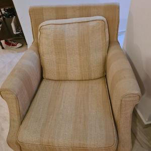 Σετ σαλόνι τριθεσιος διθέσιος πολυθρόνα