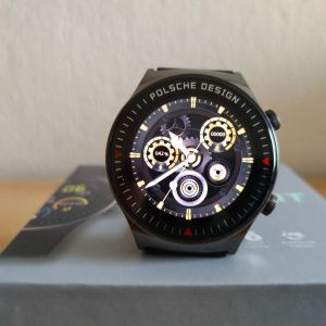 Smartwatch καινούργιo με amoled οθόνη, δυνατότητα συνομιλίας και custom watch faces