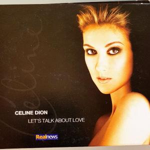 CELINE DION - LET'S TALK ABOUT LOVE   CD ALBUM