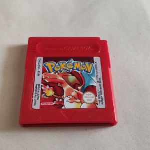 AUTHENTIC Pokemon Red Version Save Properly New Battery Game Boy Color