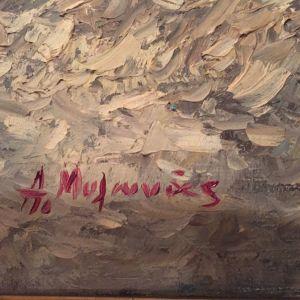 Πίνακας ζωγραφικής Α. Μυλωνα