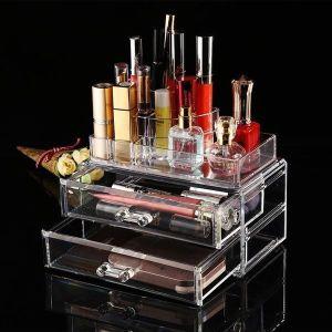 Organizer Cosmetic Storage Box 2 drawers