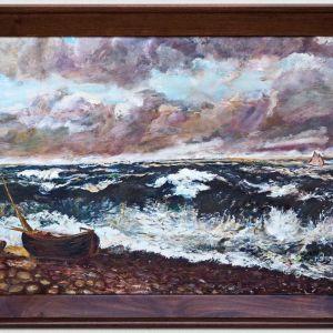 Πίνακας (λάδι) Η Βάρκα, 80Χ60