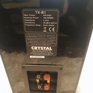 Ηχεία Crystal audio TX-B1