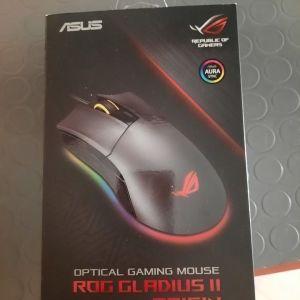 Asus Rog Gladius II Origin RGB Gaming Ποντίκι Μαύρο Σφραγισμένο Καινούργιο !
