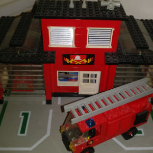 Lego fire station 6382