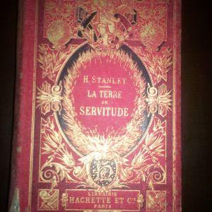 σπάνιο βιβλίο  LA TERRE  DE SERVITUDE  1875