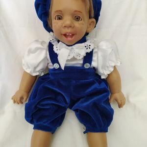 Vintage πλαστικη κουκλα μωρό.