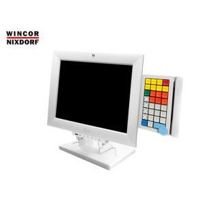 "POS MONITOR 15"" TFT Wincor Nixdorf BA83A White with KeyBoard"