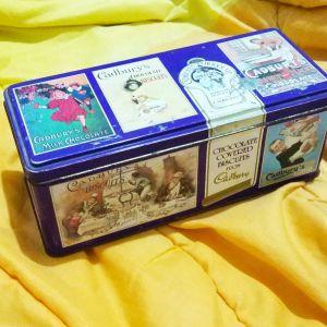 Gadbury κουτί μπισκότων.