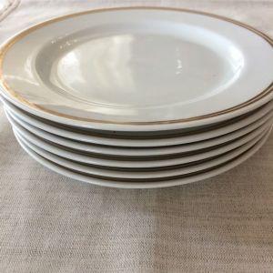 6 πιάτα 18 εκ. SCHONWALD PORCELAIN  - 1945 - 1949