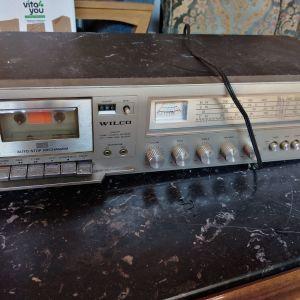 Συλλεκτικό Vintage wilco crs-2031. Μόνο για συλλέκτες. Κασετοφωνο/ραδιοενισχυτης