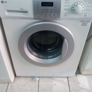 Πλυντήριο ρούχων lg 8 κιλών 8 ετών σε υπεράριστη κατάσταση A+A λειτουργεί κανονικά