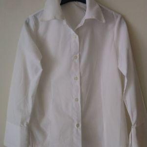πουκάμισο λευκό  για κορίτσια ηλικίας 12-14