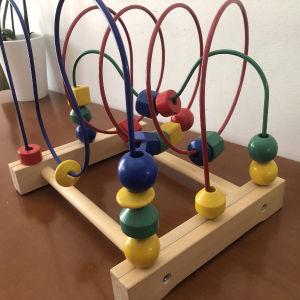 ξυλινο εκπαιδευτικό παιχνίδι λεπτής κινητικότητας