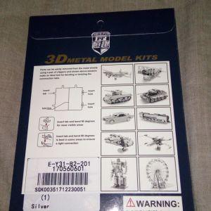 DIY 3D Puzzle AH-64 Apache