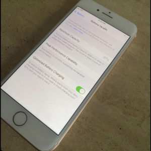IPhone 8 rose gold!