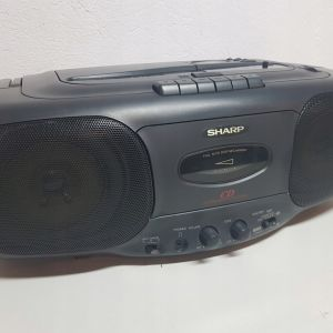 BOOMBOX  SHARP  QT-CD 45