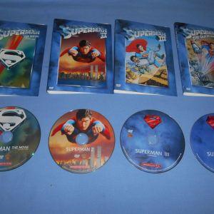 ΣΟΥΠΕΡΜΑΝ 4 ΤΑΙΝΙΕΣ / SUPERMAN  - 4 DVD