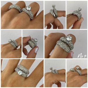 2 δαχτυλίδια σετ