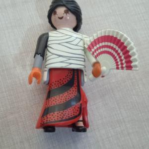 Φιγούρα Playmobil κοπέλα με βεντάλια