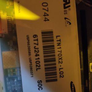 Οθόνη Samsung 17'' LCD P/N :LTN170X2-L02