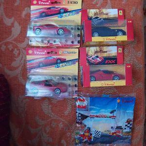Παιχνίδια συλλεκτικά αυτοκινητάκια της v-power, Ferrari